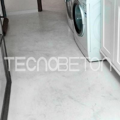 Cimento marmorizado