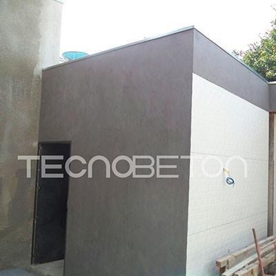 Fachadas em micro cimento