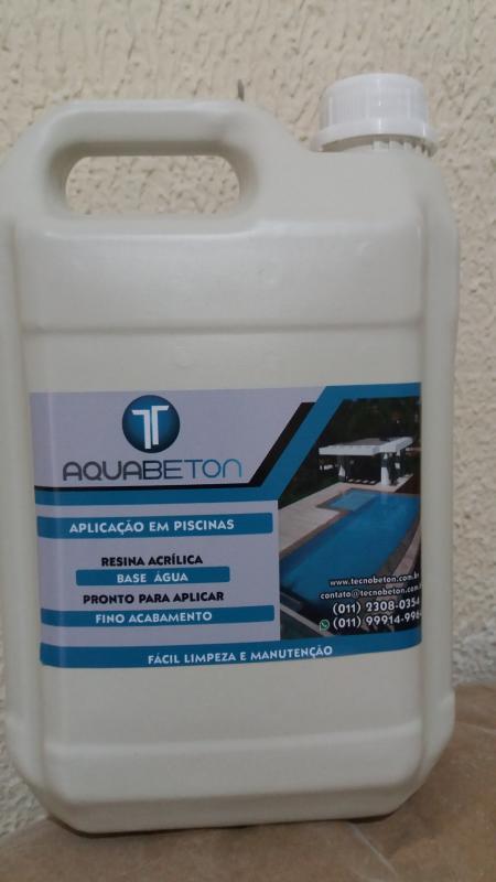 Aquabeton - embalagen de 1L e 5L